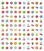 Fruit & Flowers Stickers