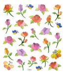 Butterflies & Roses Stickers