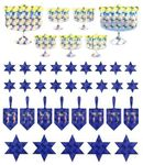 Hanukkah Mix Prismatic Stickers
