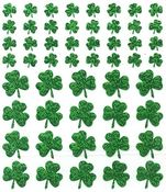 Shamrocks Sparkle Stickers