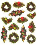 Wreaths Stickers