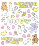 Newborn Baby Stickers