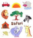 Zoo / Jungle Stickers