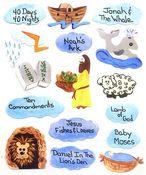 Bible School Stickers