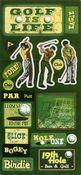 Golf Icon Stickers - Sandylion