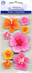 Hibiscus Flowers Stickers - Sandylion