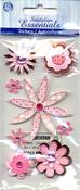 Pink & Brown Flowers