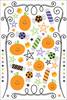 Trick Or Treat Sugar Coated Rub-Ons by Doodlebug