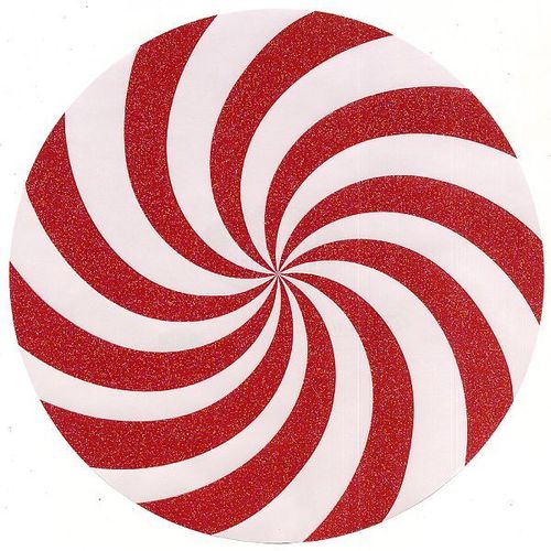Reminisce Gt Candy Cane Christmas Gt Candy Cane Circle Die