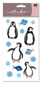 Penguins Sparkly Sticko Stickers