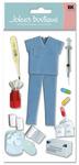 Nurse 3D  Stickers - Jolee's Boutique