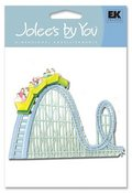 Roller Coaster 3-D Stickers - Jolee's By You