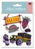 Safari 3D  Stickers - Jolee's Boutique
