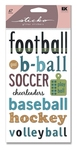 Sports Titles Stickers