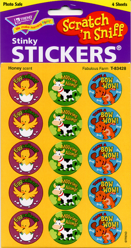 Fabulous Farm Scratch n Sniff Stickers