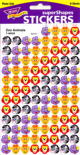 Zoo Animals Stickers by Trend