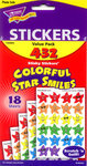 Colorful Star Smiles Stickers by Trend