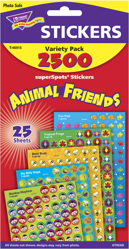 Animal Friends Pack Stickers by Trend
