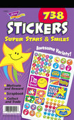 Super Stars & Smiles Sticker Pad Stickers by Trend