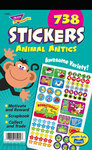 Animal Antics Sticker Pad Stickers by Trend