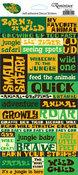 My Jungle Safari Quotes Sticker