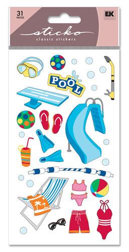 Swimming Pool Sticko Stickers