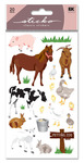 Petting Zoo Sticko Stickers