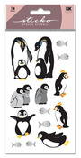 Penguin Glitter Sticko Stickers
