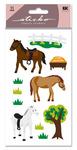 Horse Glitter Sticko Stickers