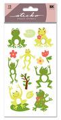 Frog World Glitter Sticko Stickers