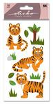 Tiger Glitter Sticko Stickers