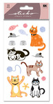 Cat Glitter Sticko Stickers