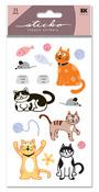 Cat Glitter Sticko Stickers