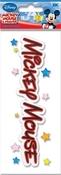 Mickey Mouse 3D Title Disney Stickers - EK Success
