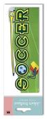 Soccer 3D Title Stickers - Jolee's Boutique