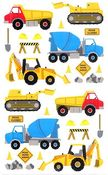 Construction Equipment - Mrs Grossman's Stickers