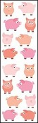 Chubby Pigs - Mrs Grossman's Stickers