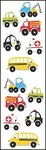 Chubby Work Vehicles - Mrs Grossman's Stickers