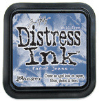 Faded Jeans Distress Ink Pad - Tim Holtz