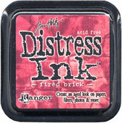 Fired Brick Distress Ink Pad - Tim Holtz