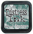 Pine Needles Distress Ink Pad - Tim Holtz