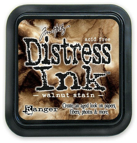 Walnut Stain Distress Ink Pad - Tim Holtz - Distress Ink Pads - Tim Holtz