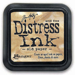 Old Paper Distress Ink Pad - Tim Holtz