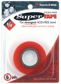 """Double - Sided Super Tape, .25"""""""