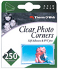 Clear Photo Corners