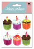 Cupcakes 3D  Stickers - Jolee's Boutique