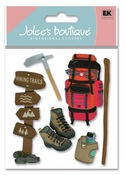 Hiking Trip 3D  Stickers - Jolee's Boutique