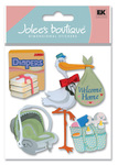 Coming Home 3D  Stickers - Jolee's Boutique