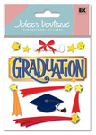 Graduation 3D  Stickers - Jolee's Boutique