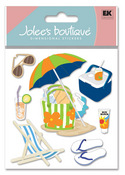 Summer Gear 3D  Stickers - Jolee's Boutique
